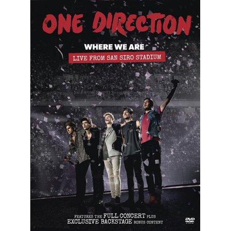 Where We Are: Live from San Siro Stadium (DVD)