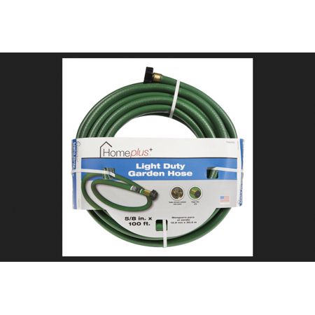 - Home Plus 5/8 in. Dia. x 100 ft. L Garden Hose Kink Resistant Safe for Drinking Water
