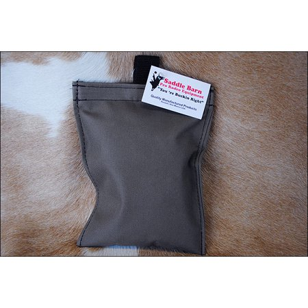 1 LB SADDLE BARN ROSIN WITH PRO RODEO CORDURA POUCH MOCHA