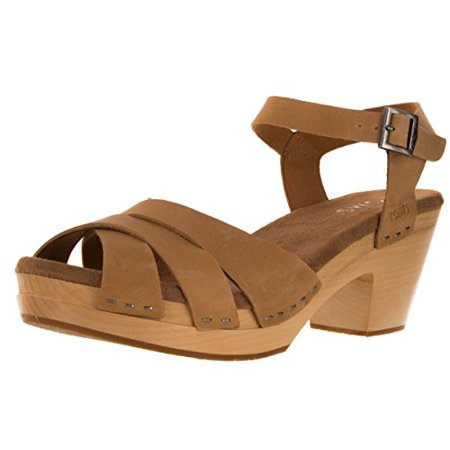 e00b8eff01b7b4 Tom s - Toms Women s Beatrix Clog - Sandstorm Leather - Casual Shoe - 7 US  - Walmart.com