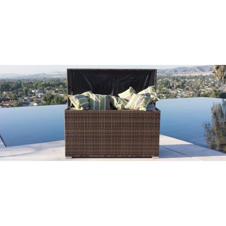 Direct Wicker Modena Outdoor Rattan Garden Cushion Storage Box Container ()