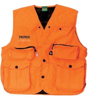 Primos Gunhunters Vest - Lg - Blaze Orange 65702