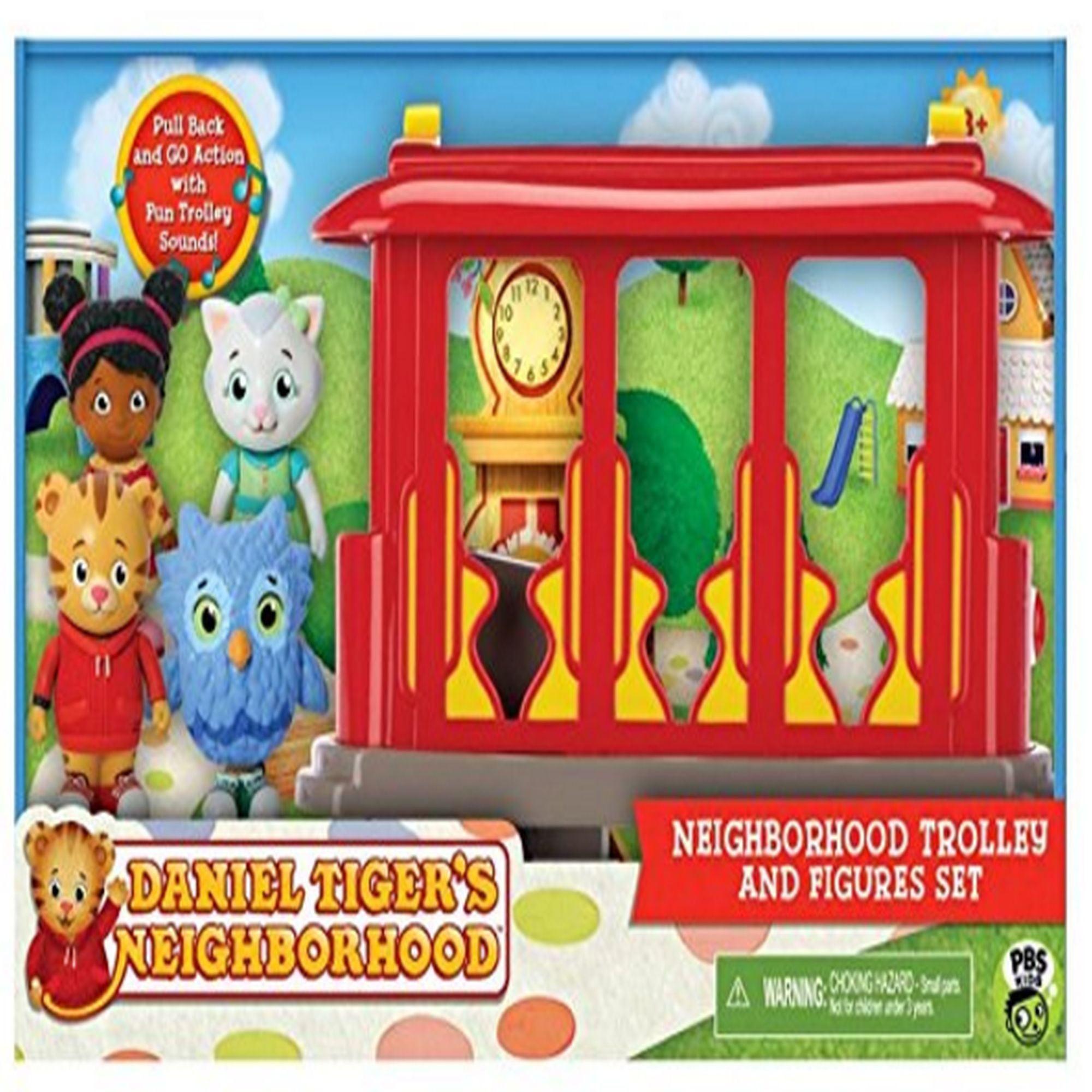 Daniel Tigers Neighborhood Trolley and Figures Set