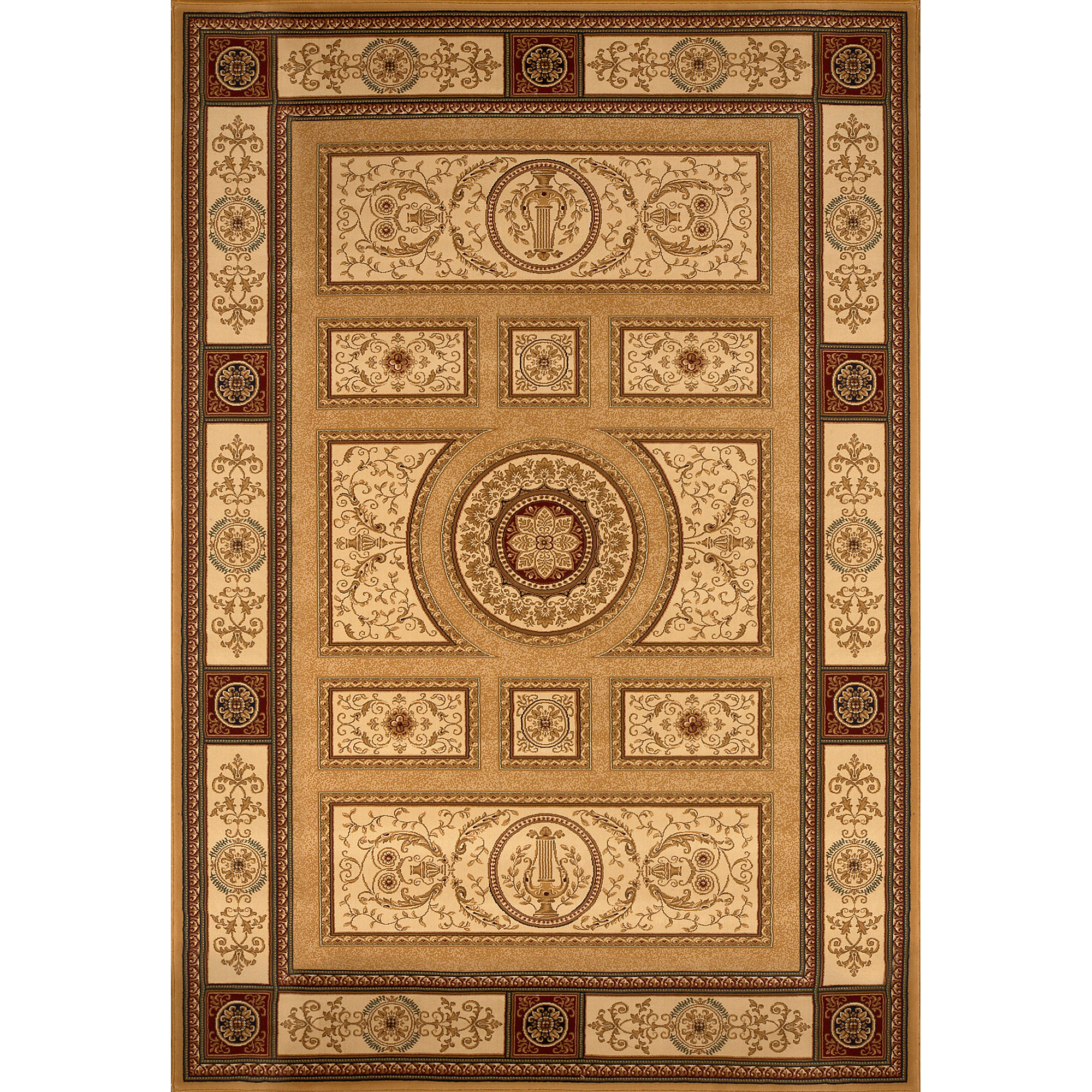 Home Dynamix Regency Collection 8307 Elegant And Stylish Area Rug