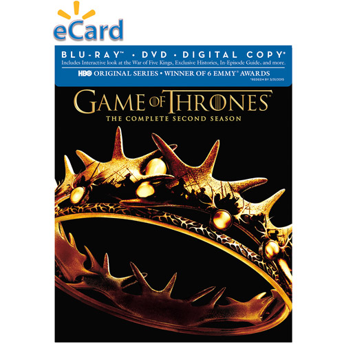 HBO Warner Brothers: Game of Throne Season 2 Pre-sale Bonus* Watch Episode One Instantly (Email Delivery)