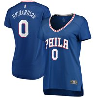 Josh Richardson Philadelphia 76ers Fanatics Branded Women's Fast Break Replica Jersey Royal - Icon Edition