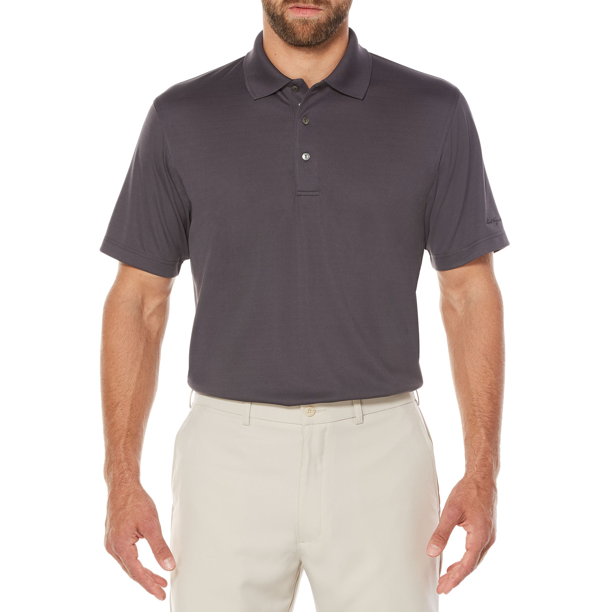 Men's Performance Short Sleeve Solid Golf Polo Shirt