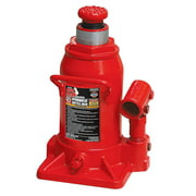 Torin Big Red 12 Ton Capacity Heavy Duty Hydraulic Industrial Stubby Bottle Jack