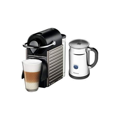 nespresso pixie espresso machine titan