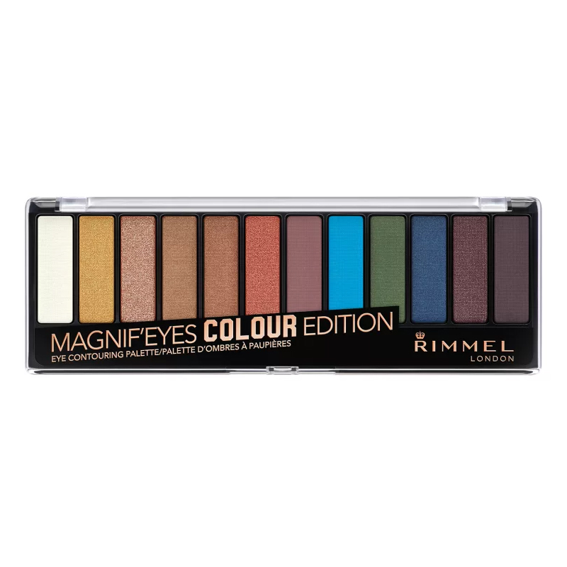 RIMMEL LONDON Magnif'eyes Eyeshadow Palette - Colour Edition (3 Paquets) - image 1 de 1
