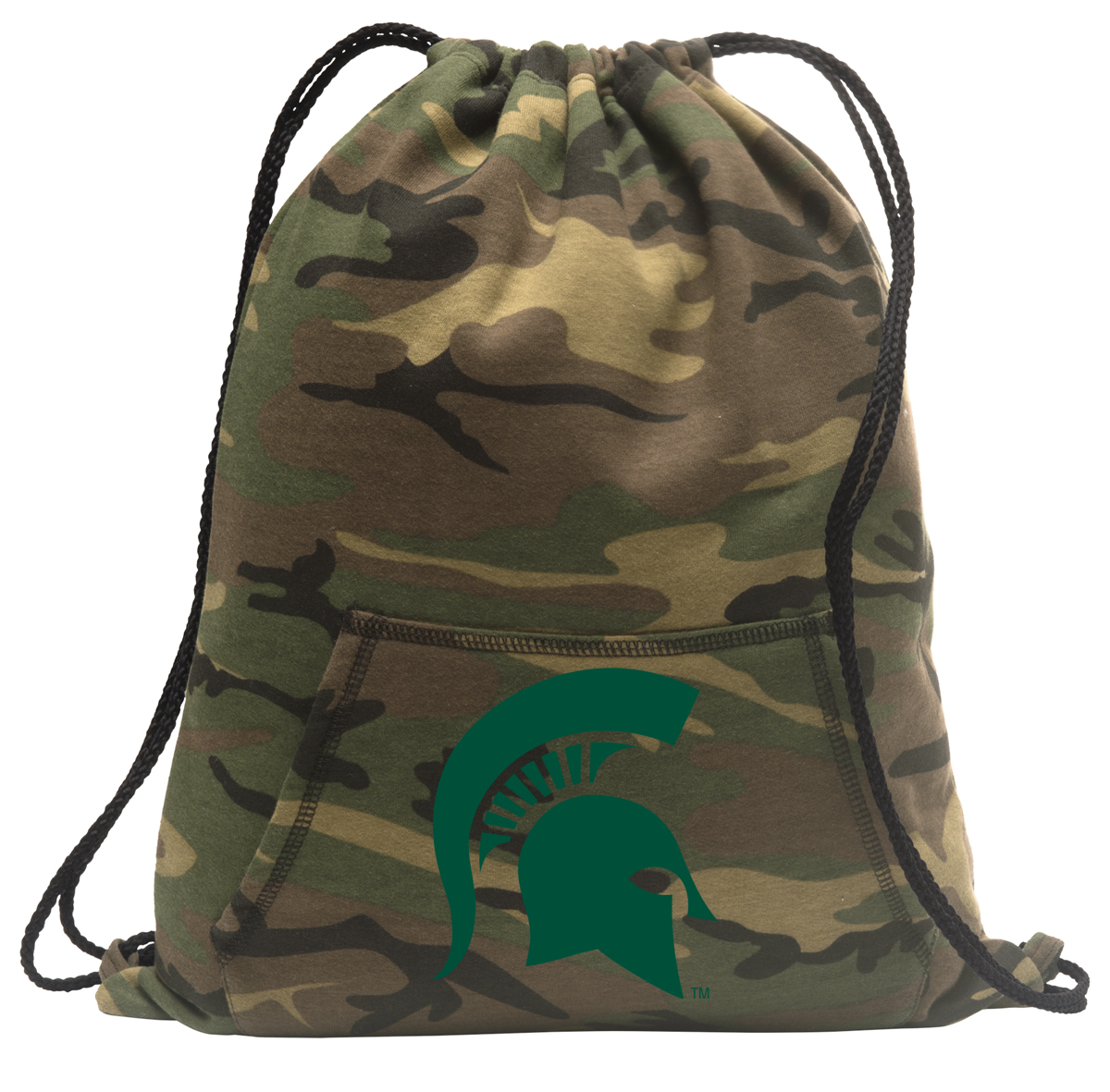 Michigan State Camo Drawstring Bag Camo - Walmart.com