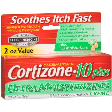 Cortizone-10 Plus Maximum Strength Anti-Itch Creme 2 oz