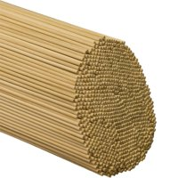 Woodpeckers 1/8 Inch x 12 Inch Wooden Dowel Rods - Unfinished Hardwood Dowels For Crafts & Woodworking ( Pack Of 100 )