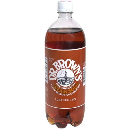 Dr. Brown Cream Soda, 33.8FO (Pack of 12)