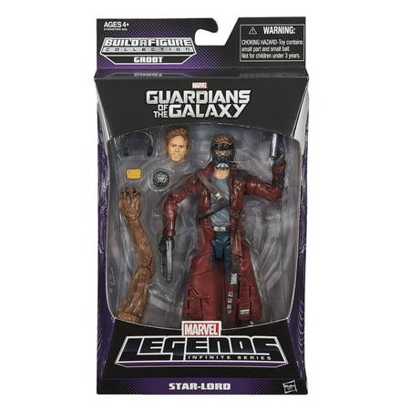 "Marvel Legends 6"" Action Figure: Star-Lord - image 1 de 2"