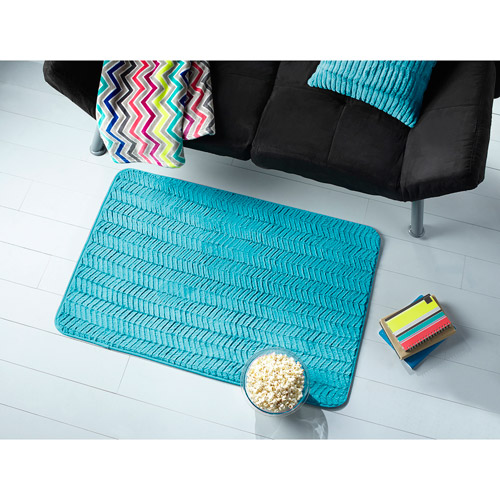 Mainstays Chevron Fur Rug