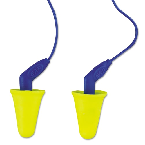 3M MMM3184001 E A R Push-Ins softouch Earplugs, Corded, NRR 31