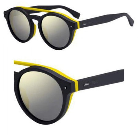 Sunglasses Fendi Men Ff M 17 /F/S 0KB7 Gray / UE gray ivory mirror lens