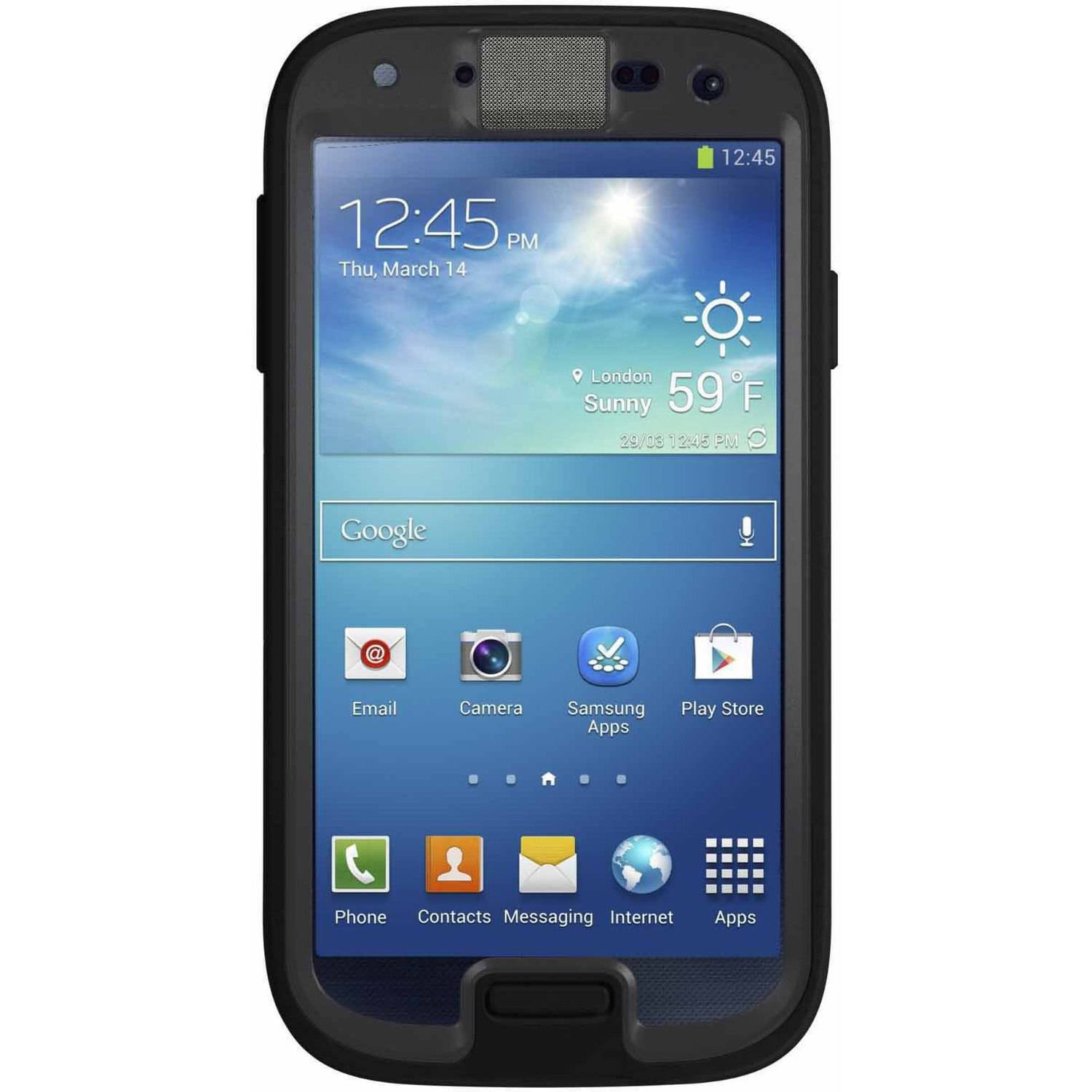 Samsung Galaxy S4 I9500 16GB GSM Smartphone and OtterBox Preserver Case (Unlocked)