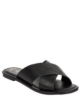 21b51f176786 Product Image Melrose Ave Women s Good To Go Vegan Sandal. Product Variants  Selector. Black