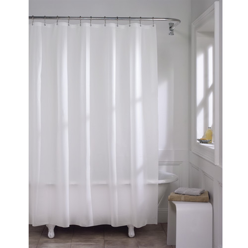 Maytex 10 Gauge Super Heavyweight Liner Vinyl Shower Curtain by Maytex Mills