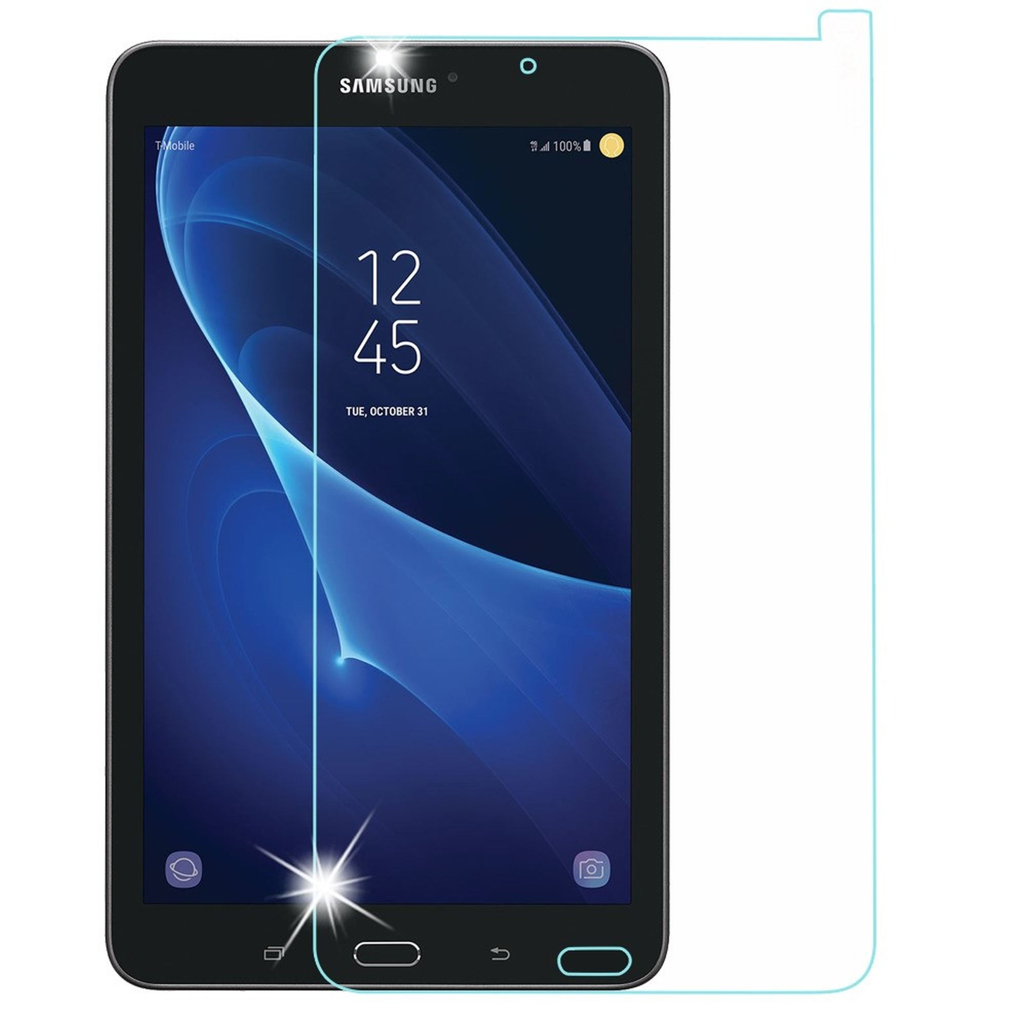 Insten Clear Tempered Glass Screen Protector LCD Film Guard Shield for Samsung Galaxy Tab E 8
