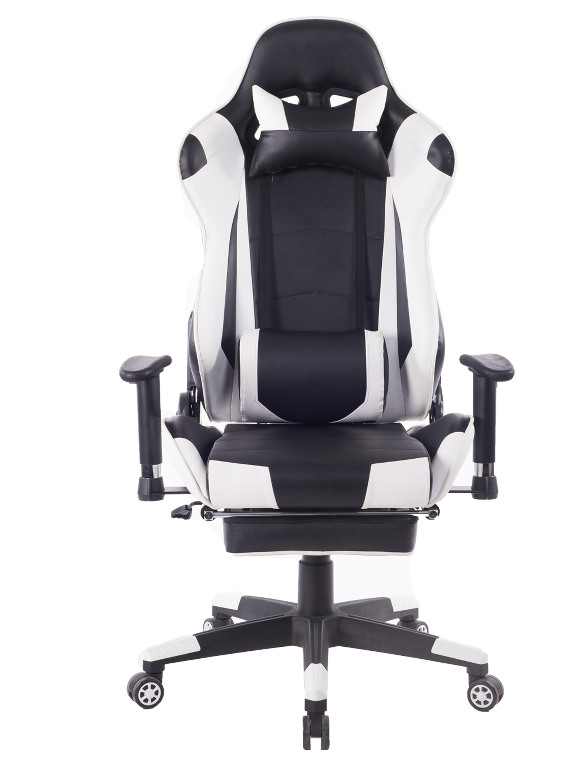 Killbee Ergonomic Reclining Swivel Gaming Chair Large Size PVC Leather Executive Office Chair with Headrest Lumbar  sc 1 st  Walmart & Killbee Ergonomic Reclining Swivel Gaming Chair Large Size PVC ...
