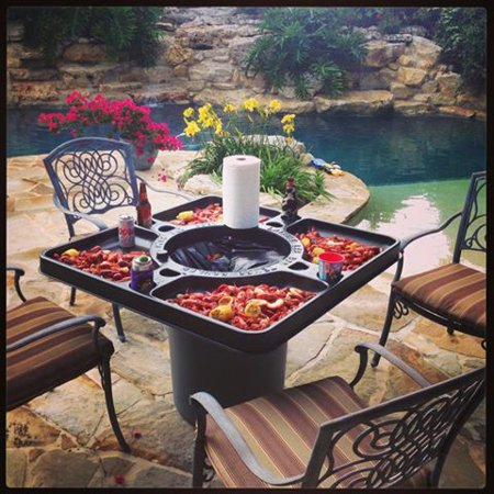 Fine Crawfish Table Home Interior And Landscaping Analalmasignezvosmurscom