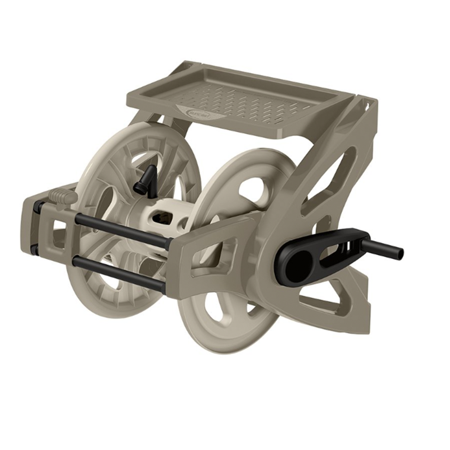 Suncast 175' Wall Mount Hose Reel, Taupe, WTS175