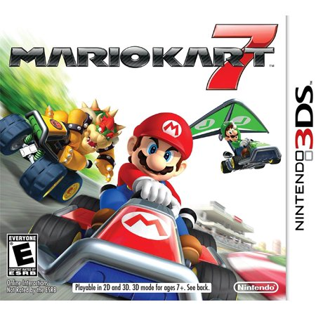 Mario Kart 7People can choose to race as one of their favorite Mushroom Kingdom characters or even as their Mii character. By Nintendo Nintendo Mushroom Sours