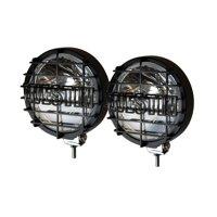 Westin Premier 6 in Quartz-Halogen Off-Road Lights w/Grid Black (Set of Two) - Black