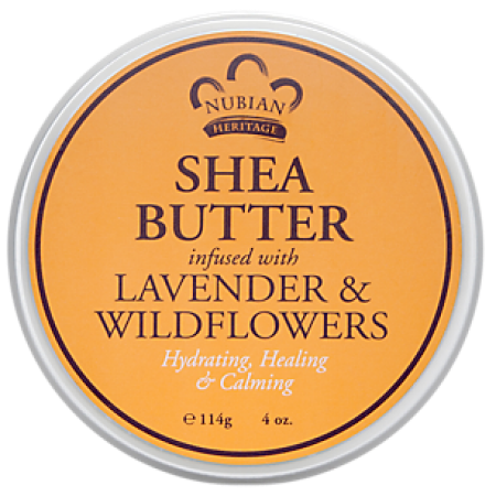 Nubian Heritage Shea Butter Infused With Lavender & Wildflowers 4 oz