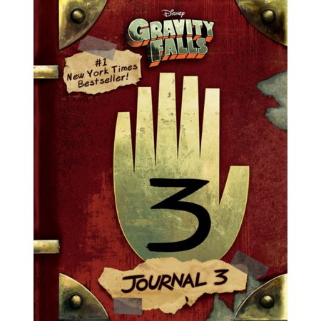 GRAVITY FALLS JOURNAL 3 Screen Printed Journal