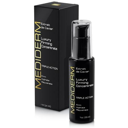 MediDerm Luxe Anti vieillissement Caviar & Hyaluronique Sérum acide, Hydrater et ressourcez