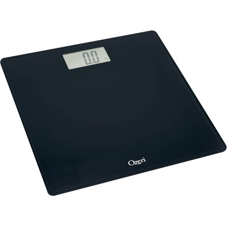 ozeri precision digital bath scale 400 lbs edition in tempered