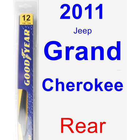 2011 Jeep Grand Cherokee Rear Wiper Blade - Rear