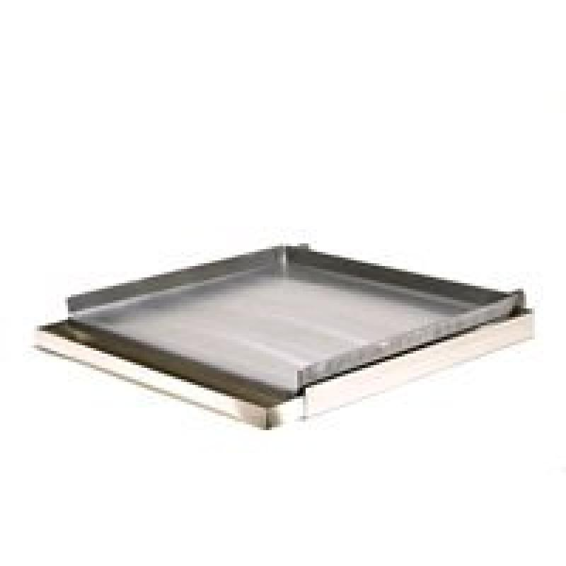 Rocky Mountain Cookware MC24-8 4-Burner Commercial Add on Griddle