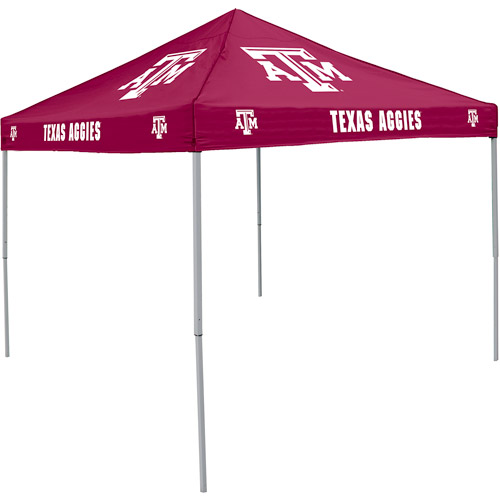 Logo Chair NCAA Texas A&M 9' x 9' Solid Color Tent, Sleeps 4