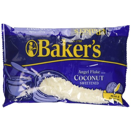 Bakers Coconut (10 PACKS : Bakers Angel Flake Sweetened Coconut 14 oz)