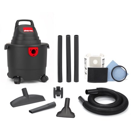 Shop-Vac 3 Gallon 3.0 Peak HP Wet/Dry Vac 5010327 (Kubota Wet Dry Vac 12 Gallon Review)