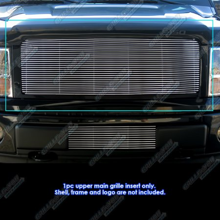 Fits 2009-2014 Ford F150 Billet Grille Grill Insert