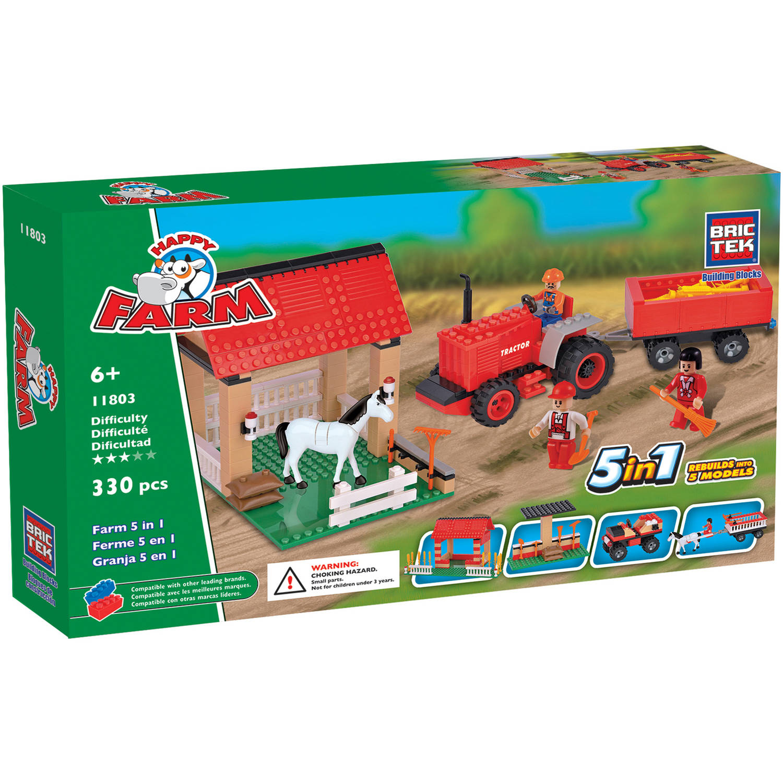 Brictek 5-in-1 Farm Set