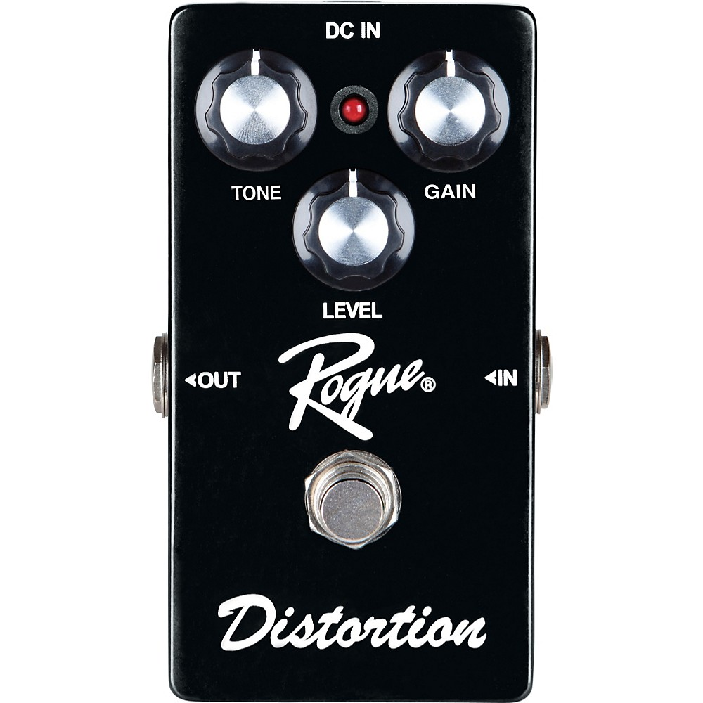 Rogue Distortion Guitar Effects Pedal by Rogue