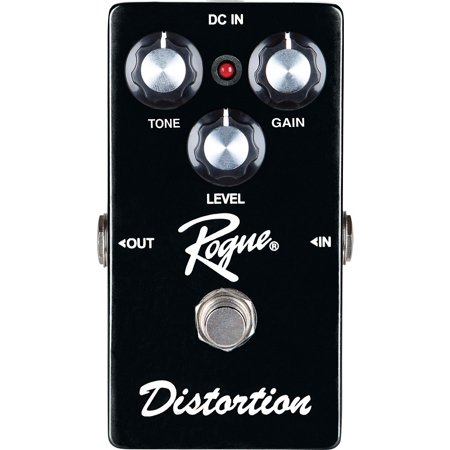 - Rogue Distortion Guitar Effects Pedal