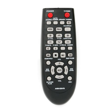 New Replace Remote control AH59-02547B Replacement Remote Control Compatible with Soundbar Samsung Sound Bar Home Theater System
