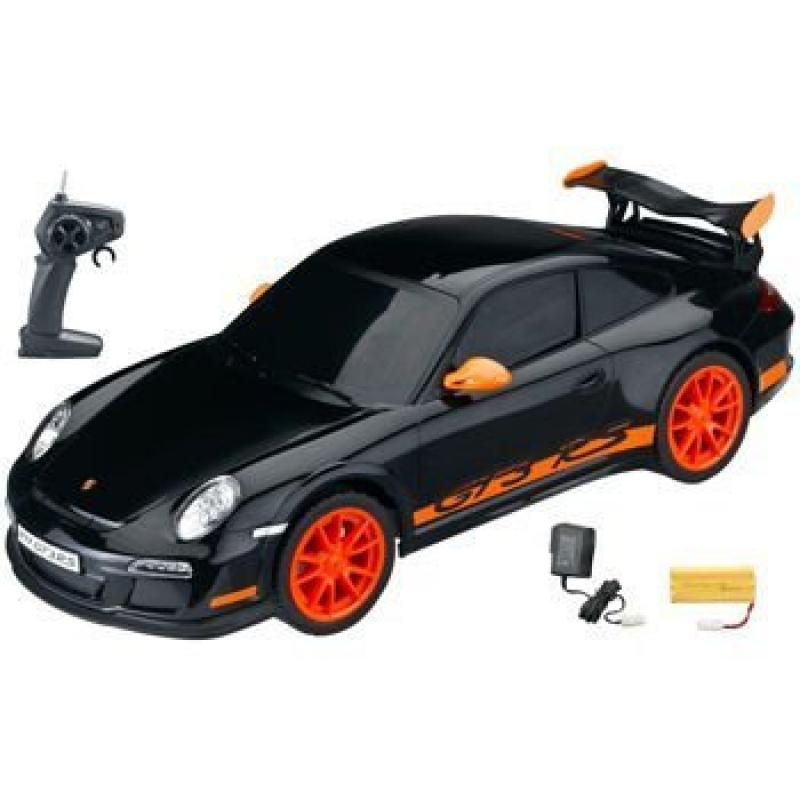 1:10 Licensed Black Porsche GT3RS 911 Electric RTR Remote Control RC Car (XQ)
