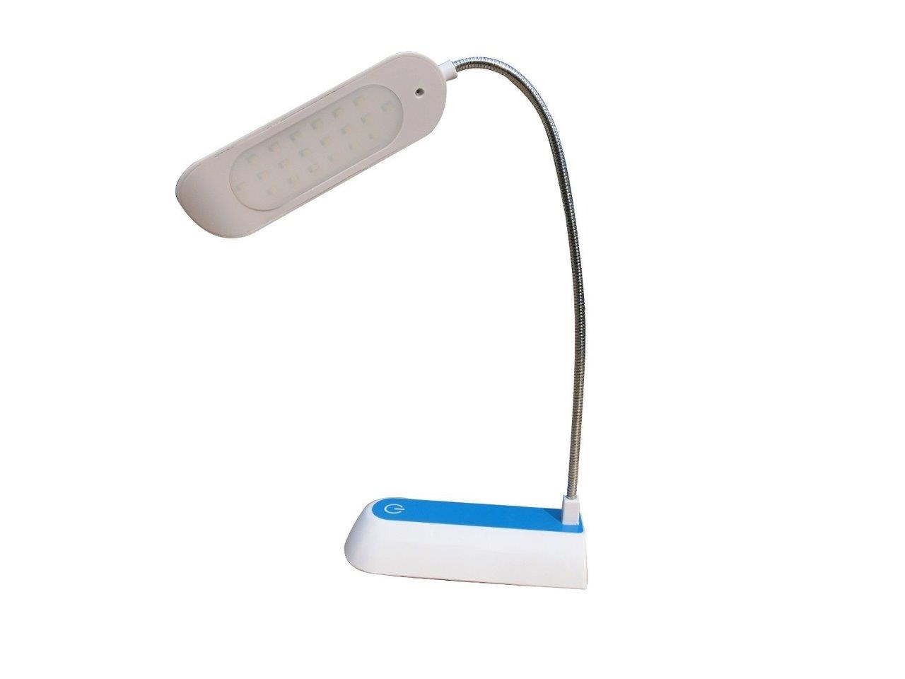 Blue Lightahead Modern Stylish Eye Friendly Led Desk Lamp Usb Powered Dimmable Touch Control Reading Light Flexible With Usb Charging Port And 3 Levels Of Smart Touch Adjustable Brightness Lightahead Desk Lamps