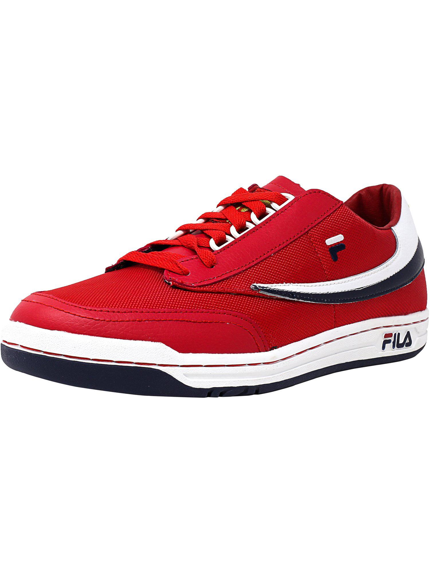 Fila Men's Original Tennis White / Navy High Rise Ankle-High Shoe - 8.5M