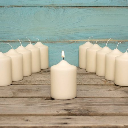 Event decor pillar candle event pack in round for 8x4 bathroom ideas