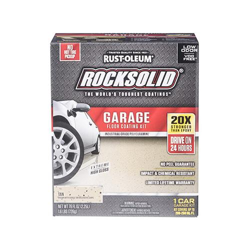 RUST-OLEUM - Rocksoli Tan Garage Kit